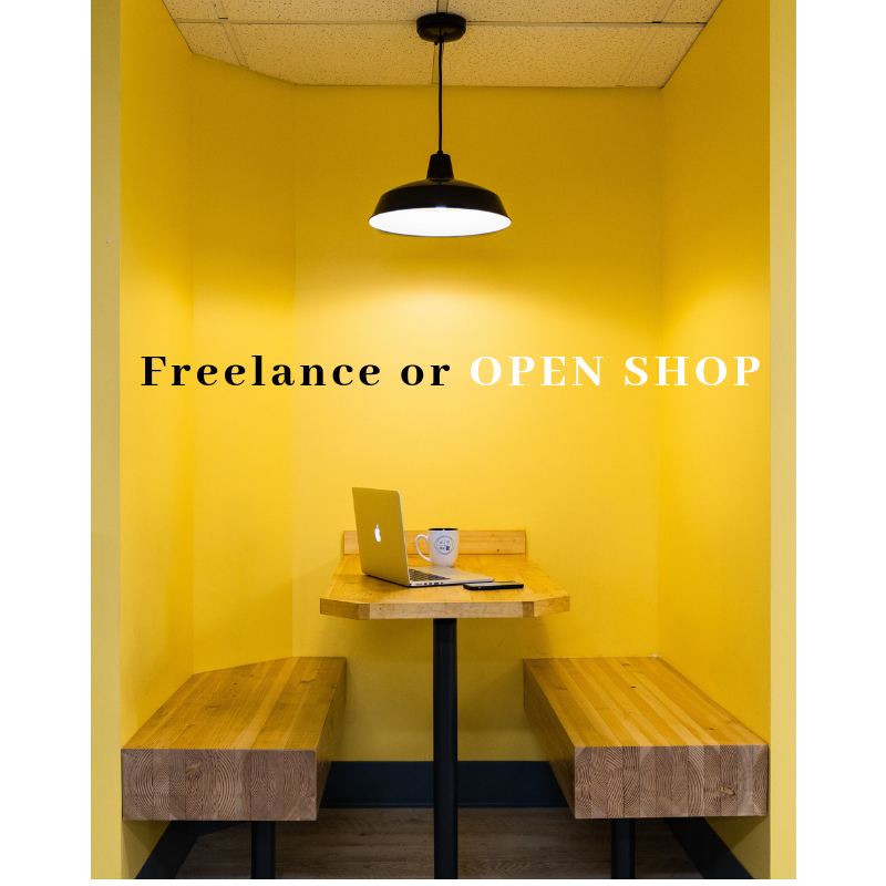 Should I freelance or start a business?